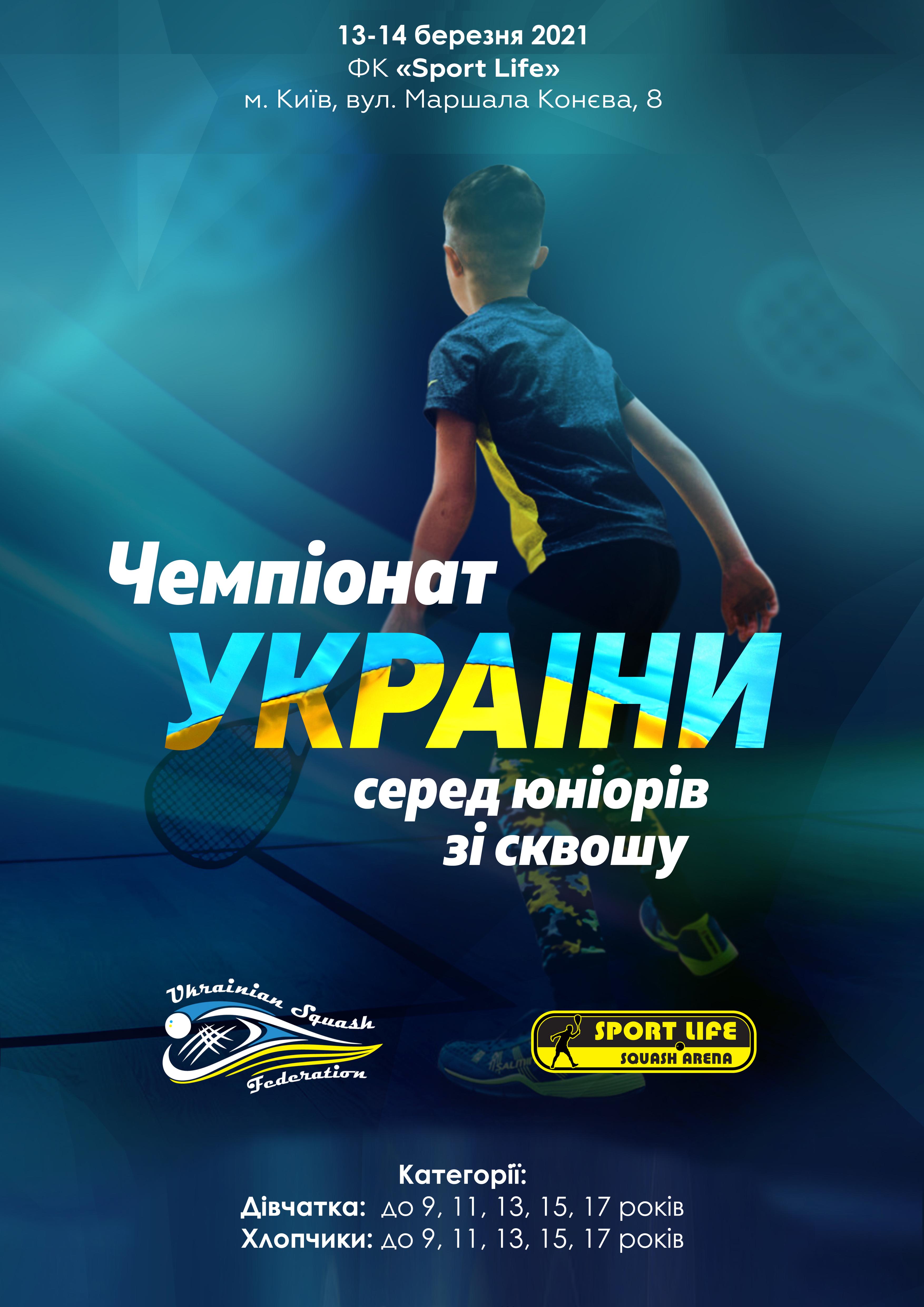 Чемпіонат України серед юніорів 2021