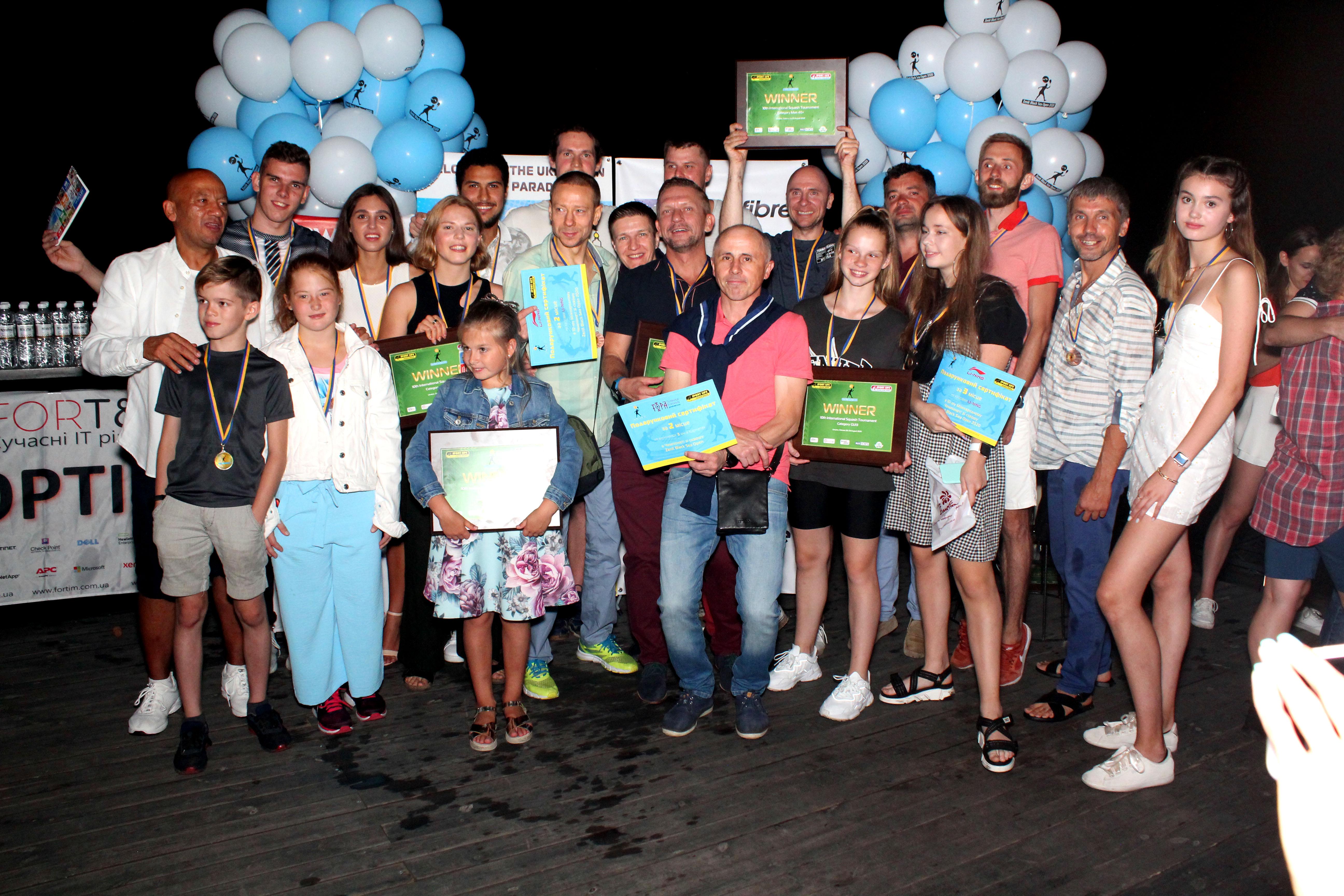 Результати турніру Zenit Black Sea Open 2020