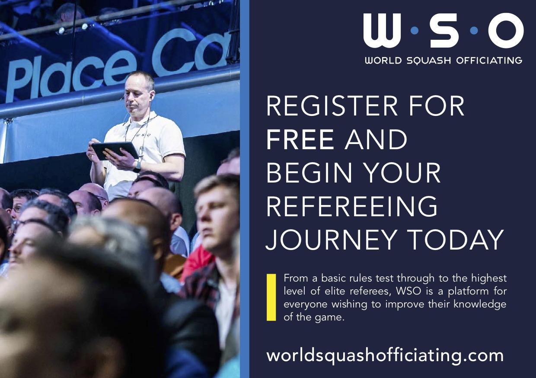 World Squash Officiating: сайт онлайн-навчання суддів