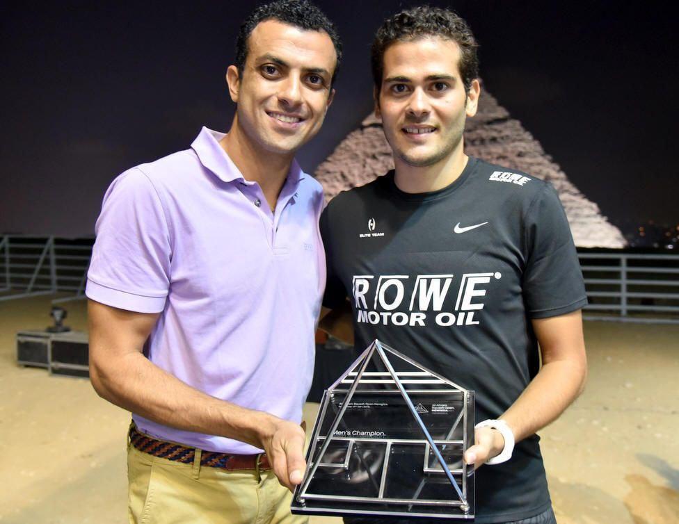 Сквош кемп з одним з кращих тренерів світу - Omar Abdel Aziz