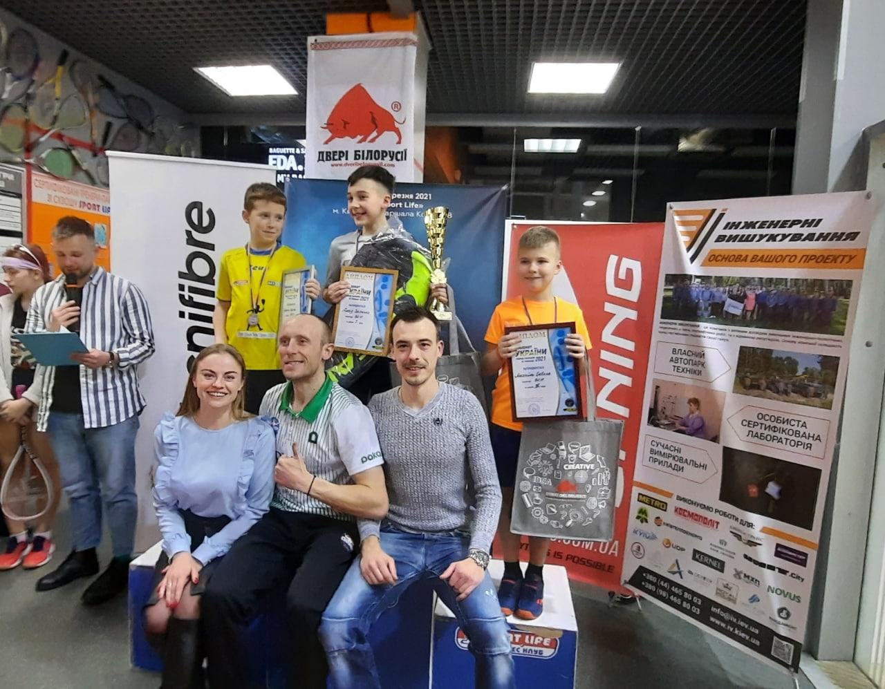 Чемпіонат України серед юніорів 2021: результати