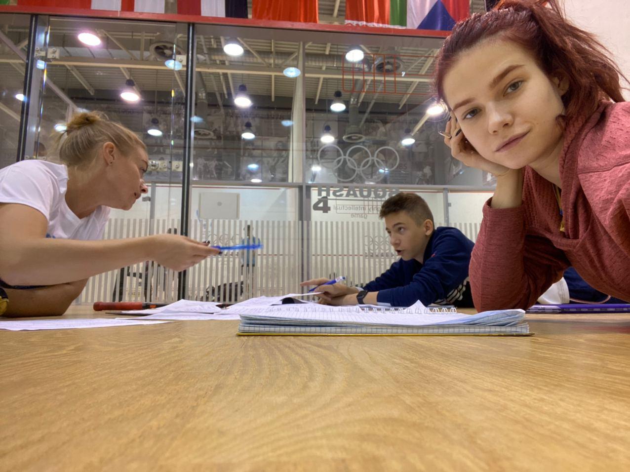 Анжеліка Польщікова: WSF Level 1 Coaching Course або як стати сквош-тренеркою в Україні